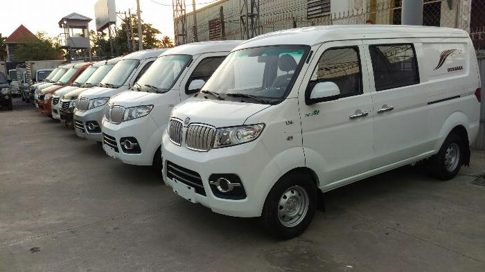 Xe bán tải dongben x30 5 chỗ 2 chỗ, chạy giờ cấm thành phố 24/24 2