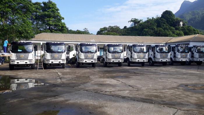 Xe tải FAW 7T25 thùng dài  9M7 chuyên chở hàng chành 0
