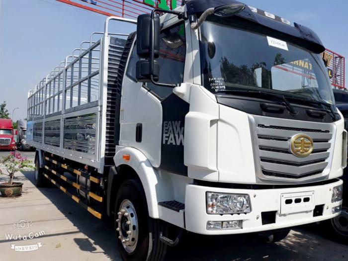 Xe tải FAW 7T25 thùng dài  9M7 chuyên chở hàng chành 4