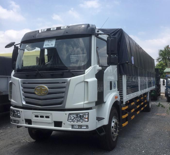 Xe tải FAW 7T25 thùng dài  9M7 chuyên chở hàng chành 5