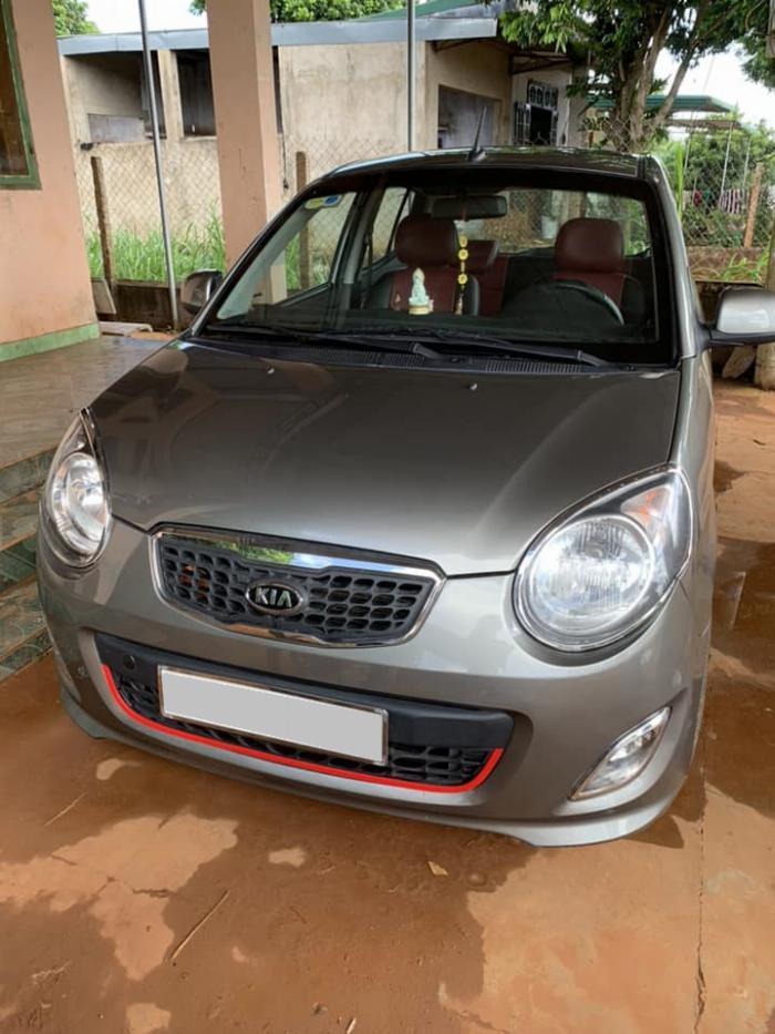 Cần bán xe Kia Morning 2013 số sàn màu xám, odo 67.000 Km