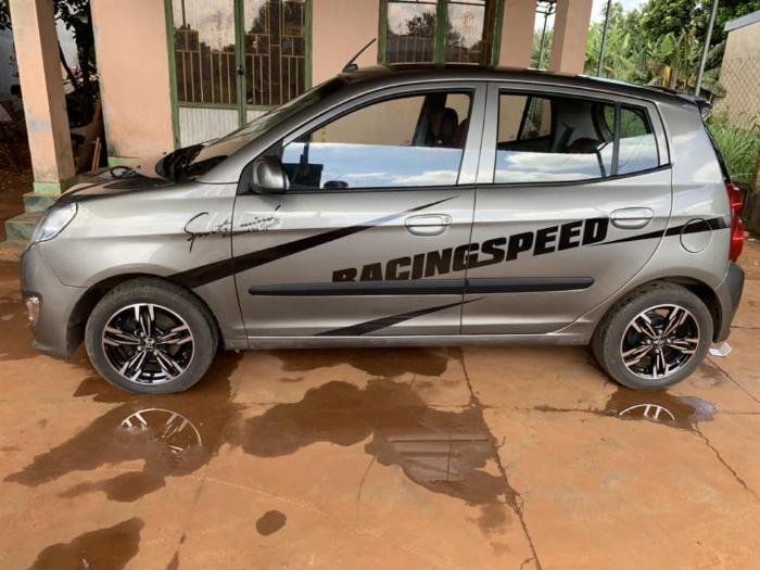 Cần bán xe Kia Morning 2013 số sàn màu xám, odo 67.000 Km 5