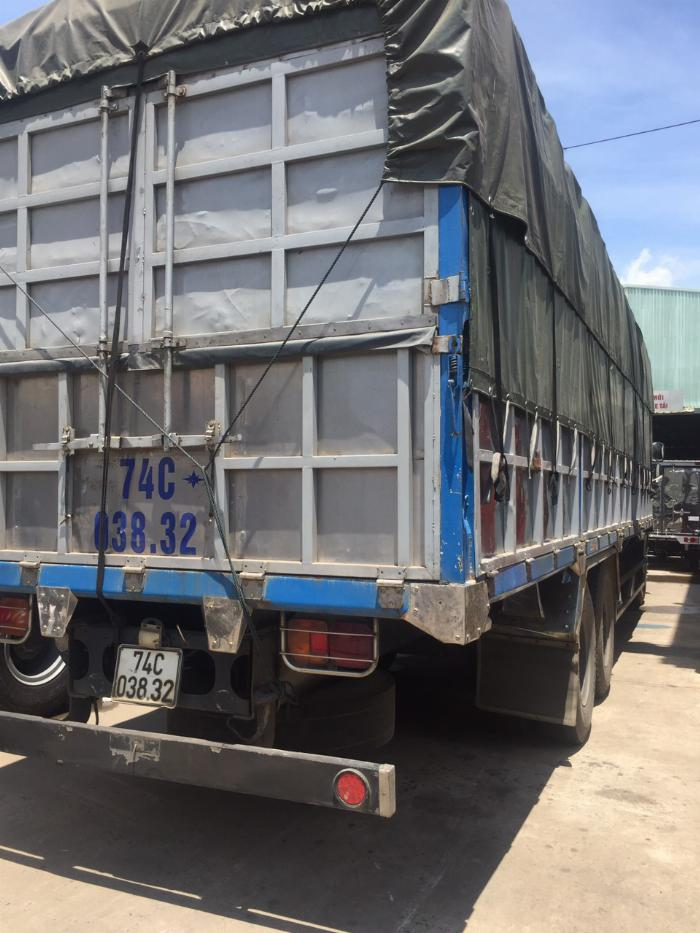 HINO FL 500 series 15 tấn 3 chân 2015 thùng dài giá tốt min