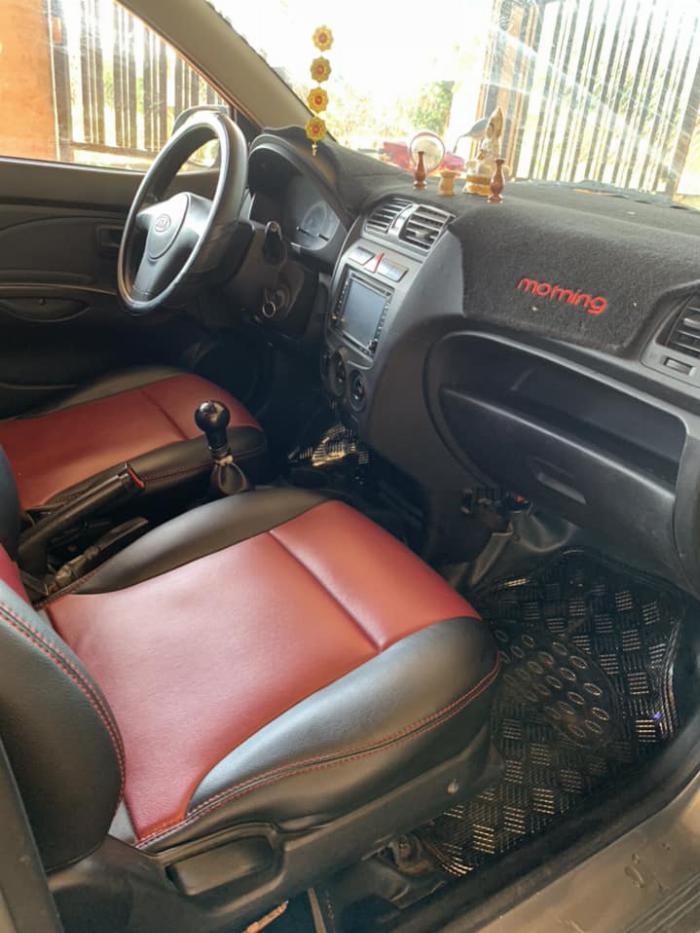 Cần bán xe Kia Morning 2013 số sàn màu xám, odo 67.000 Km 7