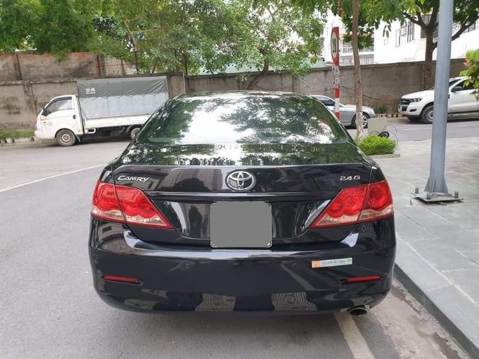 Bán Toyota Camry 2.4G màu đen 2006 tự động xe zin nguyên