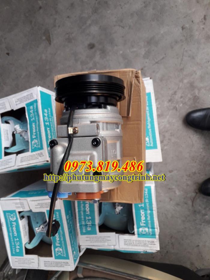 Lốc điều hòa máy xúc Doosan 140 1