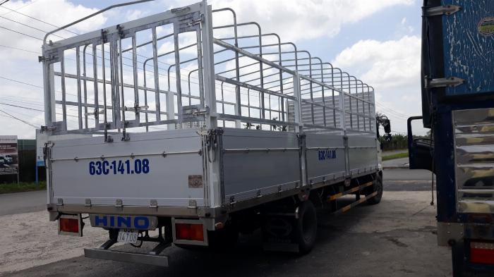 Xe tải Hino FC Tải 6 Tấn ( thùng bửng nhôm), Trả trước 300 triệu 2