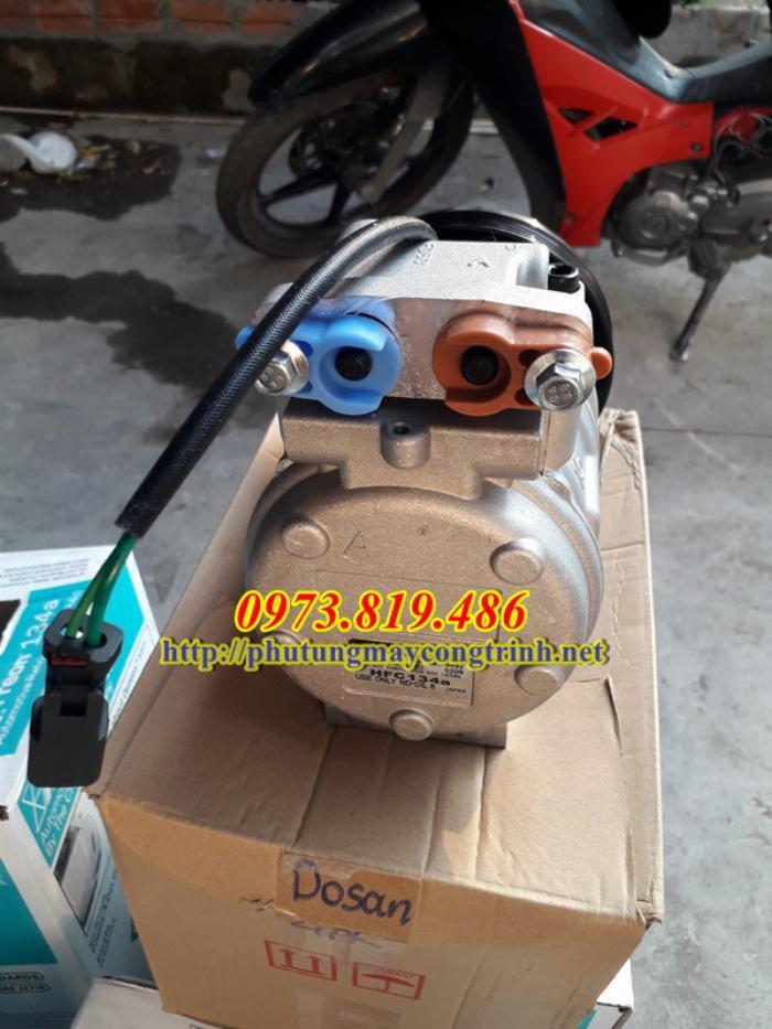 Lốc điều hòa máy xúc Doosan 140 0