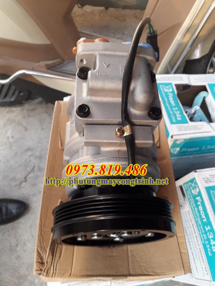 Lốc điều hòa máy xúc Doosan 140 2