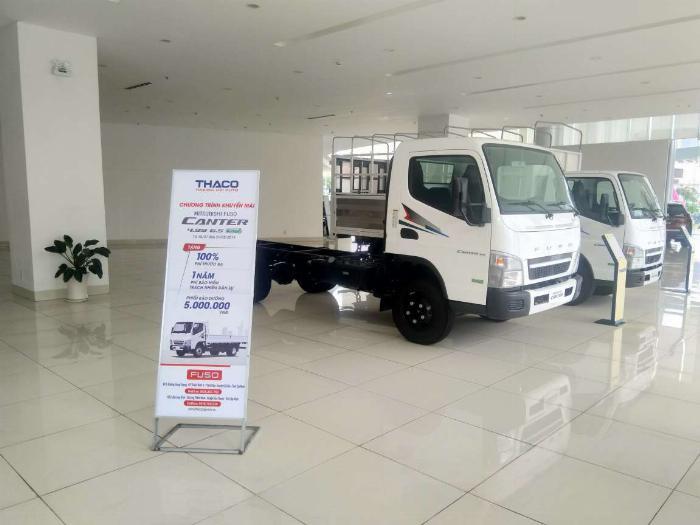 Xe tải fuso canter6.5 3,5 tấn xe nhật chất lượng nhật, có trả góp lãi suất ưu đãi khuyến mãi cực khủng trong tháng 8