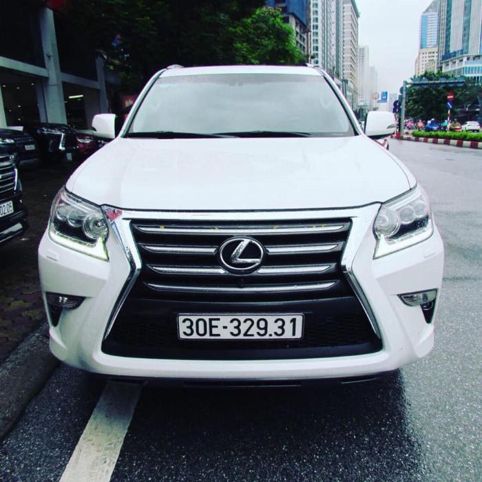 LEXUS GX460 2016 màu trắng nhập khẩu Nhật