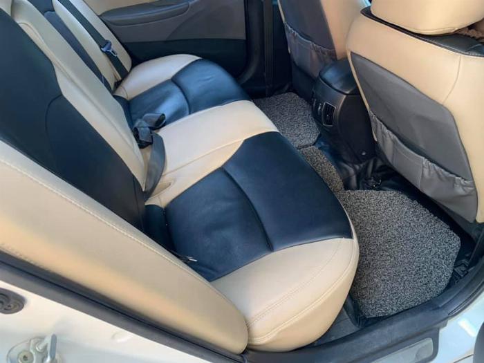 Gia đình cần bán Sonata 2012, số tự động, màu trắng 6