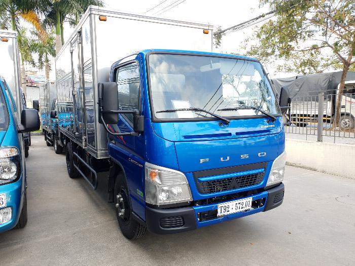 Xe tải Mitsubishi Fuso Canter4.99 thùng dài 4,3m. Tải trọng 2,1m đi vào thành phố 0