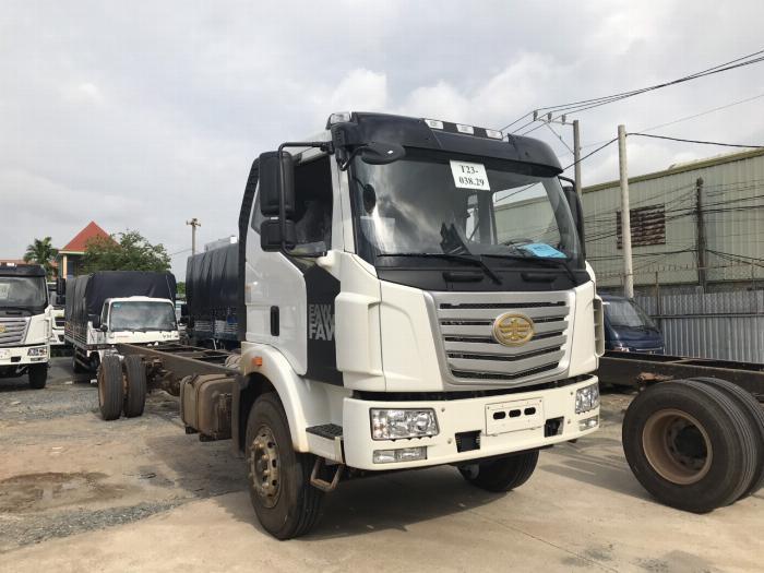 Xe tải Faw thùng siêu dài 8 tấn 2019 - giá xe tải FAW thùng dài