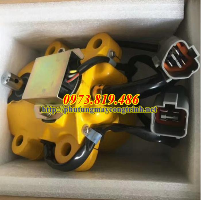 Motor Ga Máy Xúc Komatsu PC200-5 0