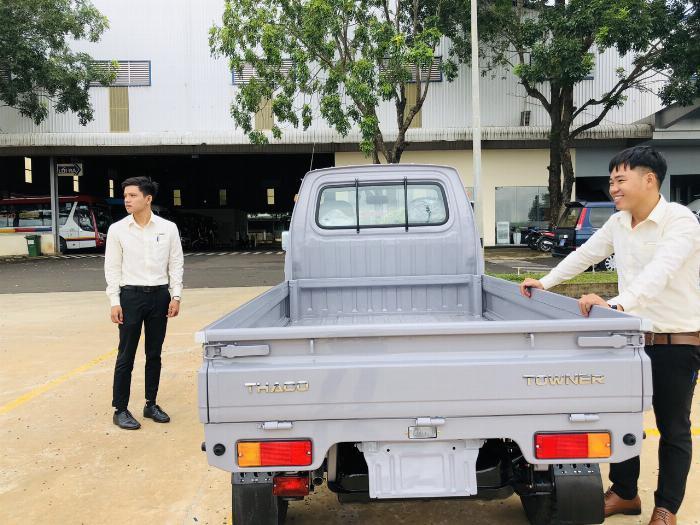 Cần bán thaco towner 800kg trả trước  75tr  nhận xe