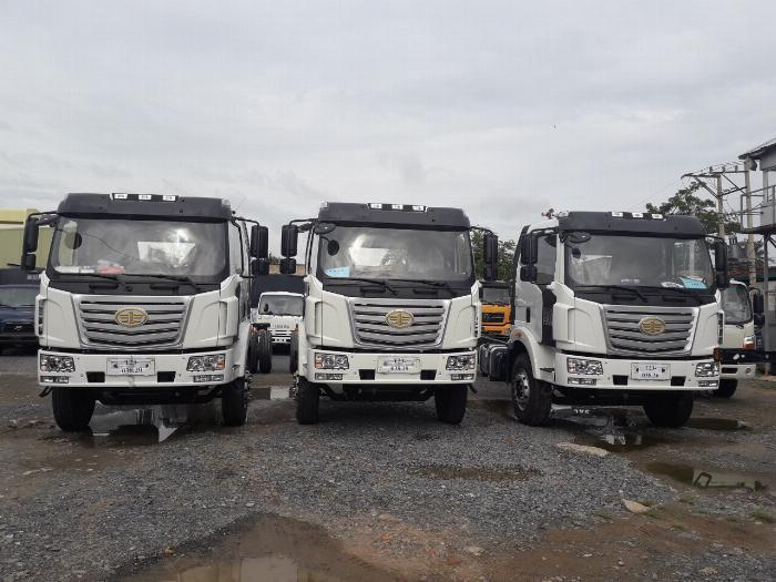 Xe tải Thùng siêu dài FAW 8 tấn nhập khẩu 100% linh kiện - Gía xe tải FAW 8 tấn thùng siêu dài 10 mét