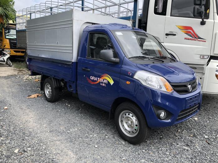 Xe tải nhỏ chính hãng foton 990kg| Trả trước 60 triệu nhận xe 7