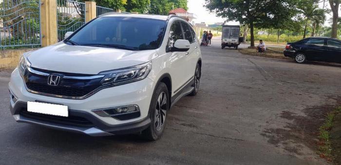 Cần bán xe Crv 2015, bản 2.4, phom mới, màu trắng ngọc trinh. 1