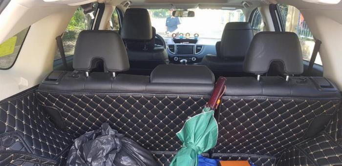 Cần bán xe Crv 2015, bản 2.4, phom mới, màu trắng ngọc trinh. 5