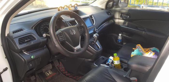 Cần bán xe Crv 2015, bản 2.4, phom mới, màu trắng ngọc trinh. 7