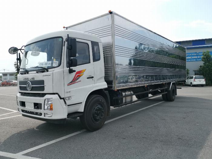 Xe tải dongfeng b180 thùng kín đời 2019 thùng dài 9.7m