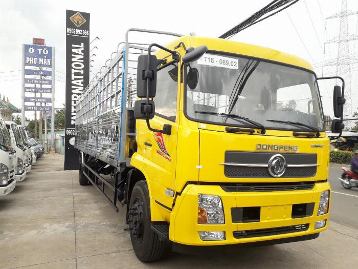 Xe tải Dongfeng b180 thùng dài 9.5m đời 2019