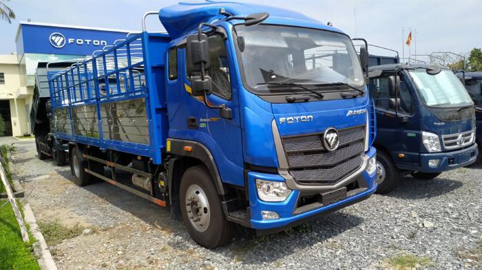 Bán xe tải Thaco Auman C160.E4 Thùng dài 7m4 tải trọng 9 tấn Long An 0