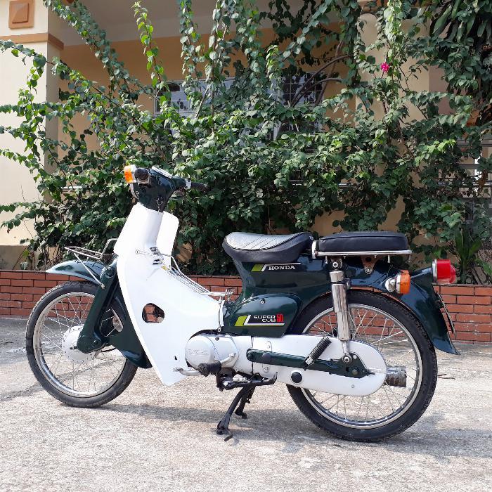 Cub 81 Honda Nhật Bản loại 50cc biển số Hà Nội 29 4