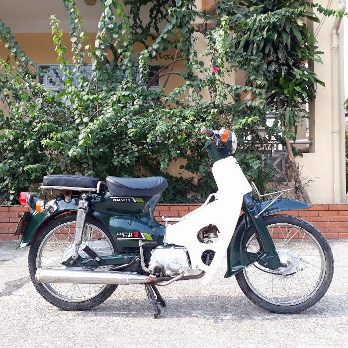 Cub 81 Honda Nhật Bản loại 50cc biển số Hà Nội 29 5
