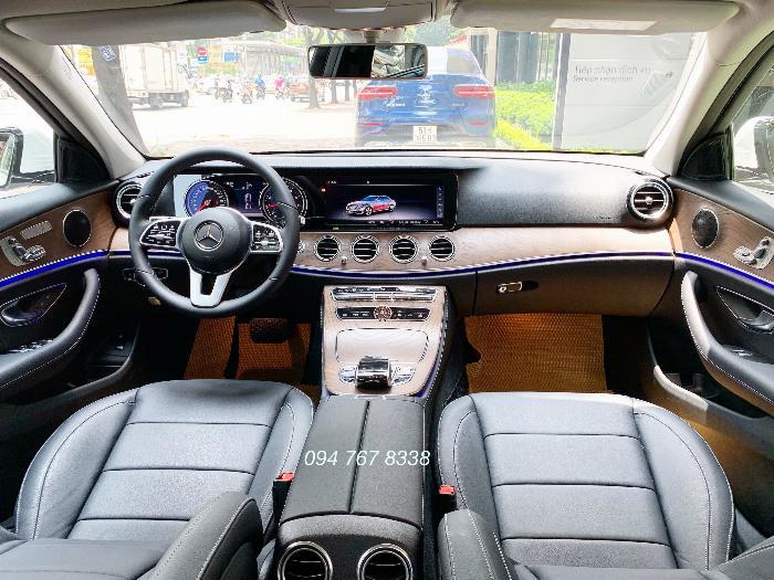 Bán Mercedes E200 sx2019 màu Trắng Siêu lướt mới đăng ký 1 tháng 5