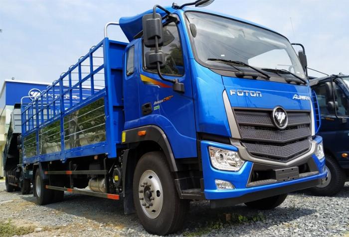 Bán xe tải Thaco Auman C160.E4 Thùng dài 7m4 tải trọng 9 tấn Long An 4