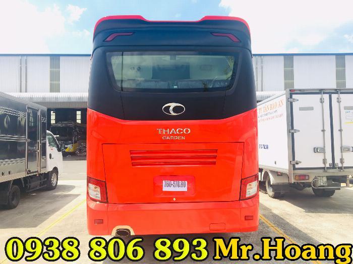 Xe Thaco 29 chỗ-Thaco Garden Tb79S 2019-Bóng hơi-Dòng xe thích hợp cho chạy hợp đồng.