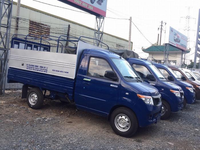Giá xe tải Kenbo 990kg thùng mui bạt dài 2m6 - Bán xe Kenbo 990kg hỗ trợ vay trả góp 80%