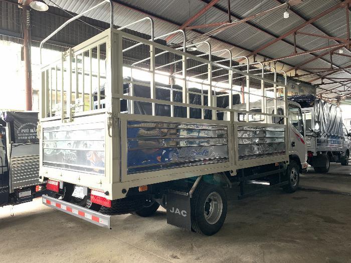 Bán trả góp xe tải JAC N200 thùng mui bạt -  Đại lí bán xe tải JAC tại TPHCM giá rẻ -xe tải JAC 1 tấn 9 thùng 4m3 0
