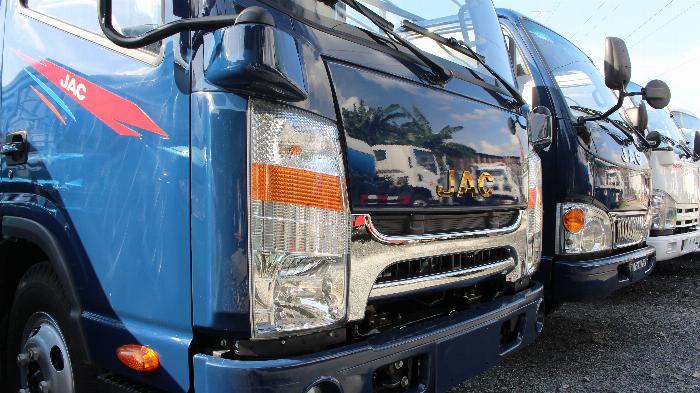 Bán trả góp xe tải JAC N200 thùng mui bạt -  Đại lí bán xe tải JAC tại TPHCM giá rẻ -xe tải JAC 1 tấn 9 thùng 4m3 4