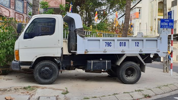 Cần bán xe tải ben 2,5 tấn tại Nha Trang