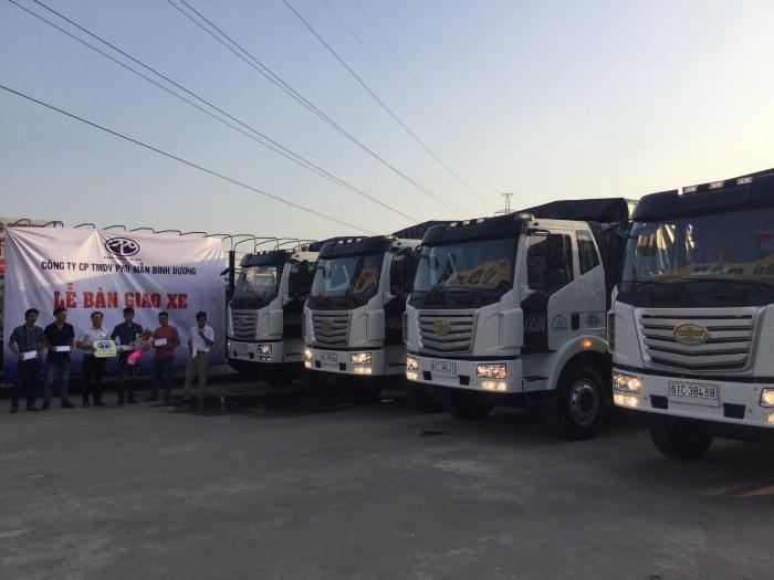Xe tải Faw thùng dài - Ô Tô Phú Mẫn Bình Dương bán xe tải - Đại lý xe tải thùng dài 0