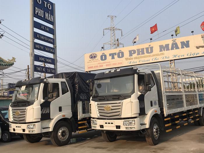 Xe tải Faw thùng dài - Ô Tô Phú Mẫn Bình Dương bán xe tải - Đại lý xe tải thùng dài 5
