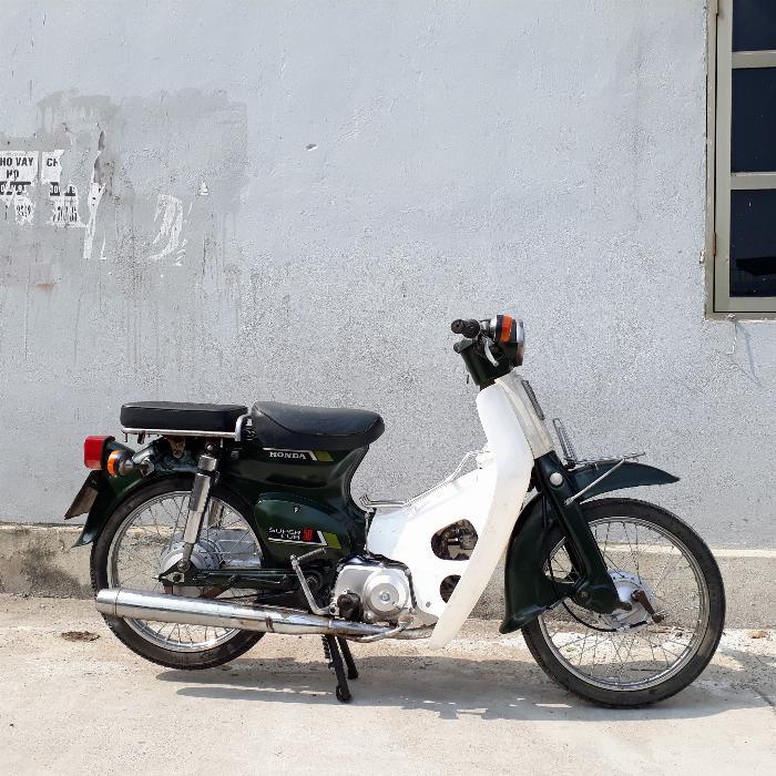 Cub 81 50cc Honda Nhật Bản biển số Hà Nội
