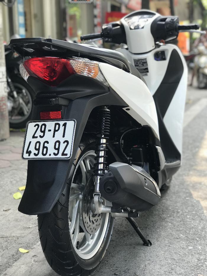 Bán SH Việt 125 khoá Smartkey 2016 màu Trắng cực đẹp