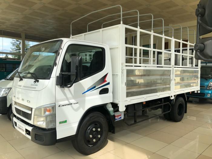 Bán xe tải 2,1 tấn NHẬT BẢN Mitshubishi Fuso Cantrer 4.99 đạt chuẩn Euro4 mạnh mẽ, êm ái, vượt trội