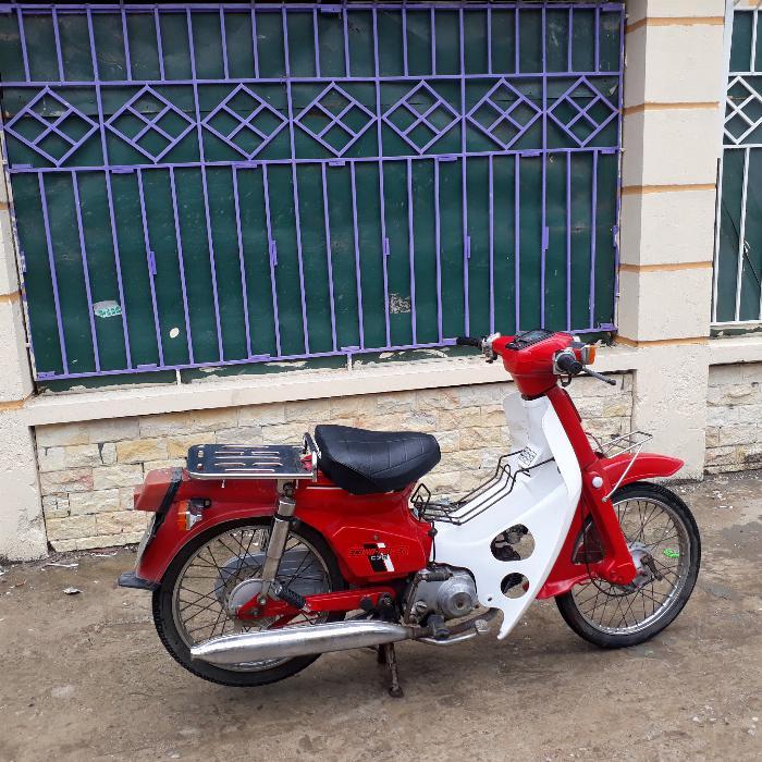 Cub DD màu đỏ xe Nhật nguyên bản biển Hà Nội 29