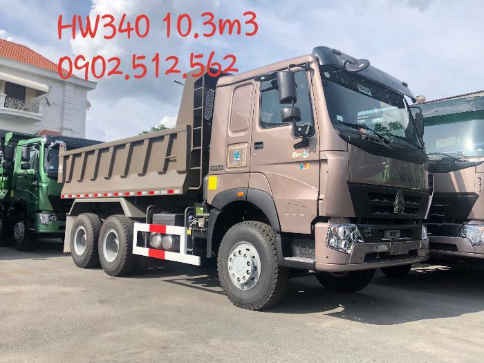 Xe Ben 3 Chân Howo 2019 Model HW340 thùng 10.3m3 tải CPTGGT 12.7 Tấn 2