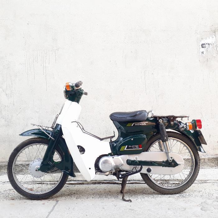 Cub 81 50cc Nhật Bản Honda biển Hà Nội VIP 1868
