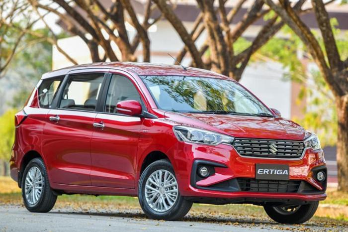 Suzuki Ertiga 2019 Màu Đỏ