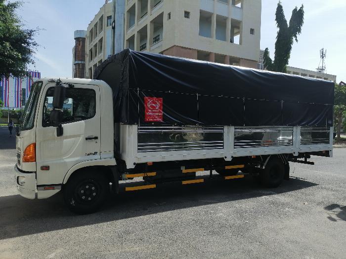 Xe tải HINO FC9JNTC thùng mui bạt 6,2 TẤN – 2019 1