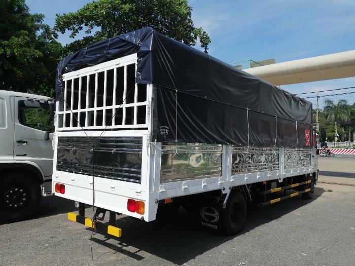 Xe tải HINO FC9JNTC thùng mui bạt 6,2 TẤN – 2019 2