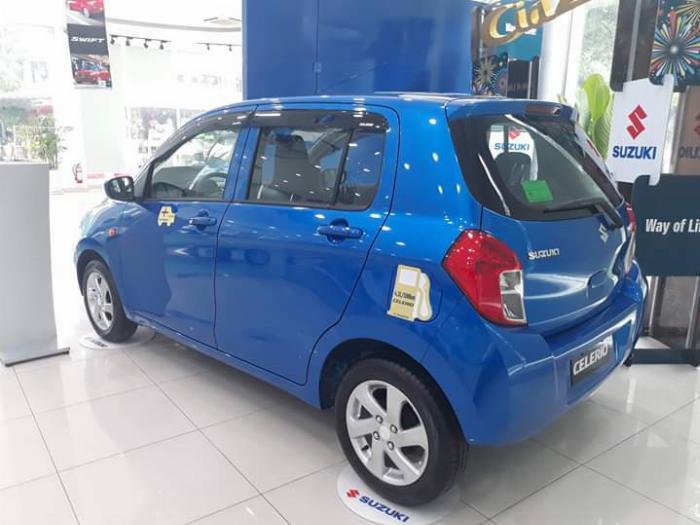 Chỉ 95 Triệu Nhận xe Suzuki Celerio - Xe Nhật, nhập Thái, Đầy đủ tiện nghi, Tiết kiệm nhiên liệu 3.7L/100KM 4