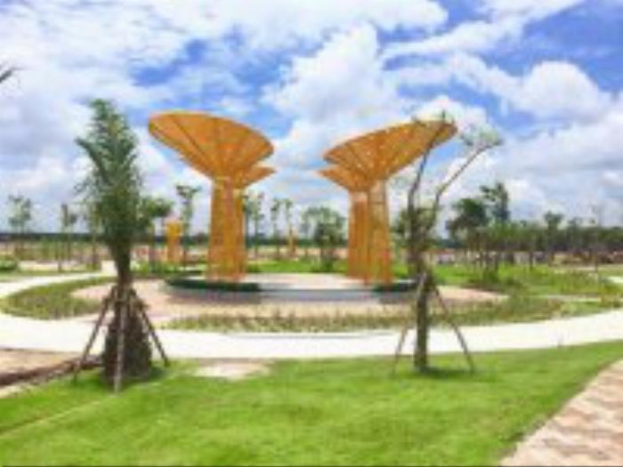 100 m2 đất mặt tiền ql13 thuộc huyện Bàu Bàng tc 100 shr. liên hệ: 0949.00.39.78